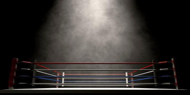 Boxing Ring Background Image