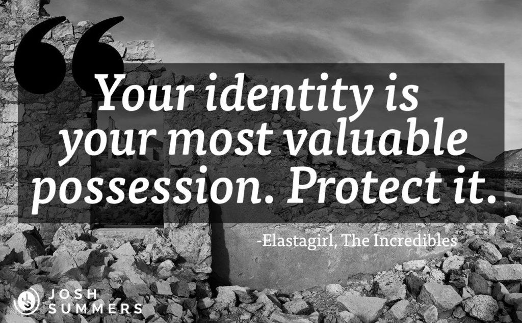 Identity quote