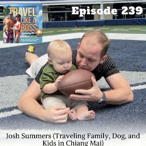 Travel Like a Boss podcast with Josh Summers